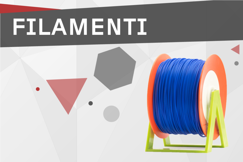 Categoria prodotto Home 3D store Sharebot Monza Shop stampa 3D filamenti