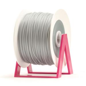 Bobina di filamento da 1kg di PLA 1,75mm Eumakers alluminio Sharebot Monza stampa 3d