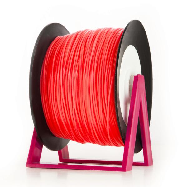 Bobina di filamento da 1kg di PLA 1,75mm Eumakers arancione fluo Sharebot Monza stampa 3d
