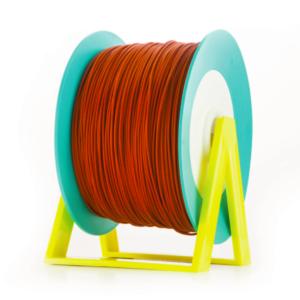 Bobina di filamento da 1kg di PLA 1,75mm Eumakers arancione mattone Sharebot Monza stampa 3d