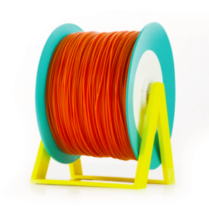 Bobina di filamento da 1kg di PLA 1,75mm Eumakers arancione scuro Sharebot Monza stampa 3d