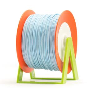 Bobina di filamento da 1kg di PLA 1,75mm Eumakers azzurro confetto Sharebot Monza stampa 3d