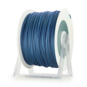 Bobina di filamento da 1kg di PLA 1,75mm Eumakers azzurro metallizzato Sharebot Monza stampa 3d