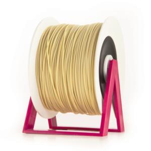 Bobina di filamento da 1kg di PLA 1,75mm Eumakers beige Sharebot Monza stampa 3d