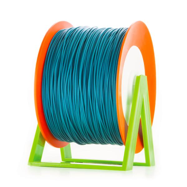 Bobina di filamento da 1kg di PLA 1,75mm Eumakers blu ceruleo Sharebot Monza stampa 3d