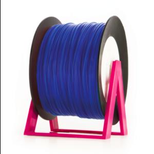 Bobina di filamento da 1kg di PLA 1,75mm Eumakers blu fluo Sharebot Monza stampa 3d