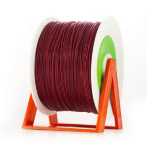 Bobina di filamento da 1kg di PLA 1,75mm Eumakers bordeaux Sharebot Monza stampa 3d
