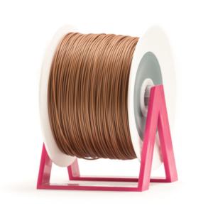 Bobina di filamento da 1kg di PLA 1,75mm Eumakers bronzo Sharebot Monza stampa 3d