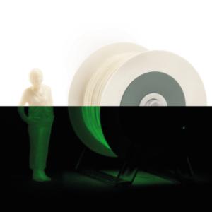 filamento PLA fotoluminescente Eumakers Sharebot Monza stampa 3d