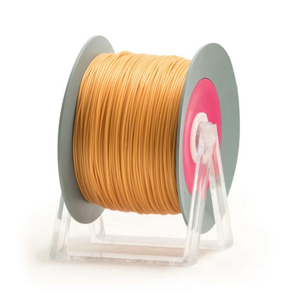 filamento PLA giallo ambra iridescente Eumakers Sharebot Monza stampa 3d