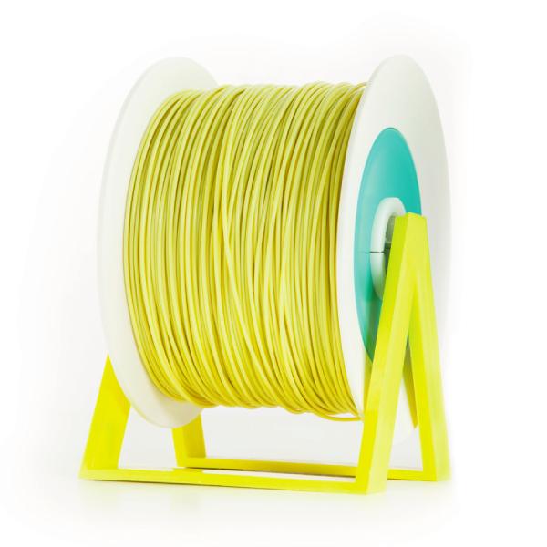 filamento PLA giallo ocra Eumakers Sharebot Monza stampa 3d
