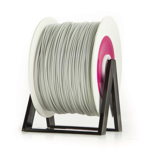 Bobina di filamento da 1kg di PLA 1,75mm Eumakers grigio chiaro Sharebot Monza stampa 3d