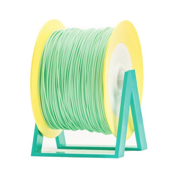 Bobina di filamento da 1kg di PLA 1,75mm Eumakers latte e menta Sharebot Monza stampa 3d
