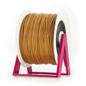 Bobina di filamento da 1kg di PLA 1,75mm Eumakers marrone Sharebot Monza stampa 3d