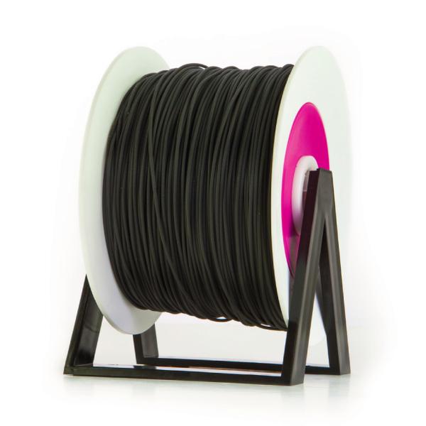 Bobina di filamento da 1kg di PLA nero 1,75mm Eumakers Sharebot Monza stampa 3d