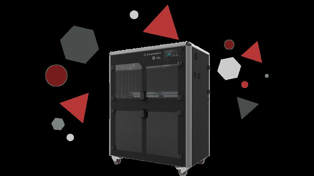 Stampanti 3D professionali Sharebot Monza Sharebot qxxl 3d store 3d shop qxxl stampante 3D
