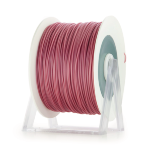 Bobina di filamento da 1kg di PLA 1,75mm Eumakers rosa antico scuro metallizzato Sharebot Monza stampa 3d