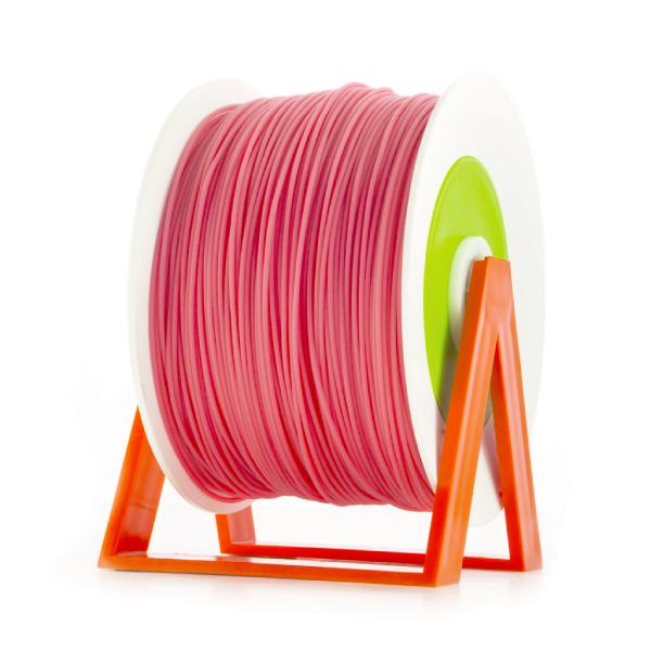 Bobina di filamento da 1kg di PLA 1,75mm Eumakers rosa chewing-gum Sharebot Monza stampa 3d