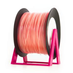 Bobina di filamento da 1kg di PLA 1,75mm Eumakers rosa fluo Sharebot Monza stampa 3d