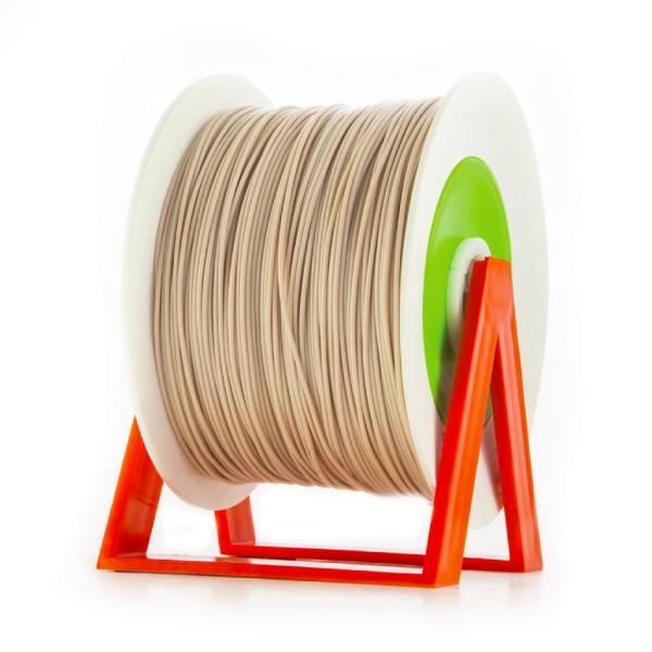 Bobina di filamento da 1kg di PLA 1,75mm Eumakers rosa incarnato Sharebot Monza stampa 3d