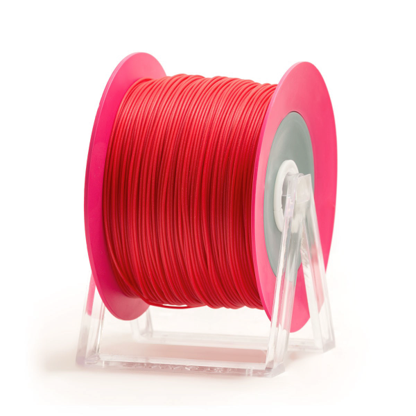 filamento PLA rosso glossy Eumakers Sharebot Monza stampa 3d