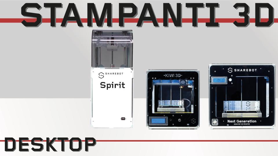 Stampanti 3D Sharebot Monza stampanti 3D desktop 3d store 3d shop