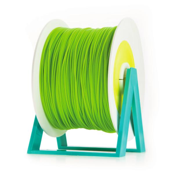 Bobina di filamento da 1kg di PLA 1,75mm Eumakers verde foglia Sharebot Monza stampa 3d