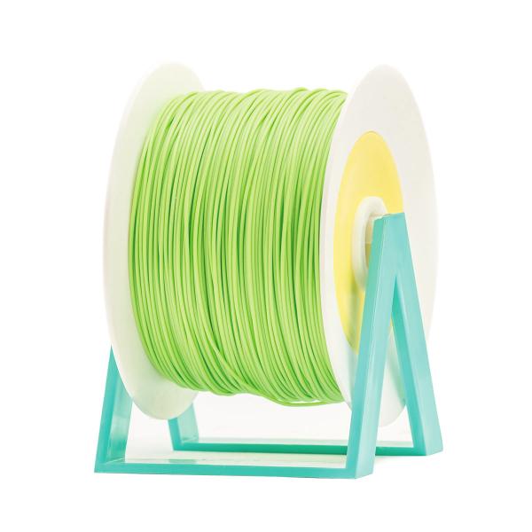 Bobina di filamento da 1kg di PLA 1,75mm Eumakers verde pastello Sharebot Monza stampa 3d