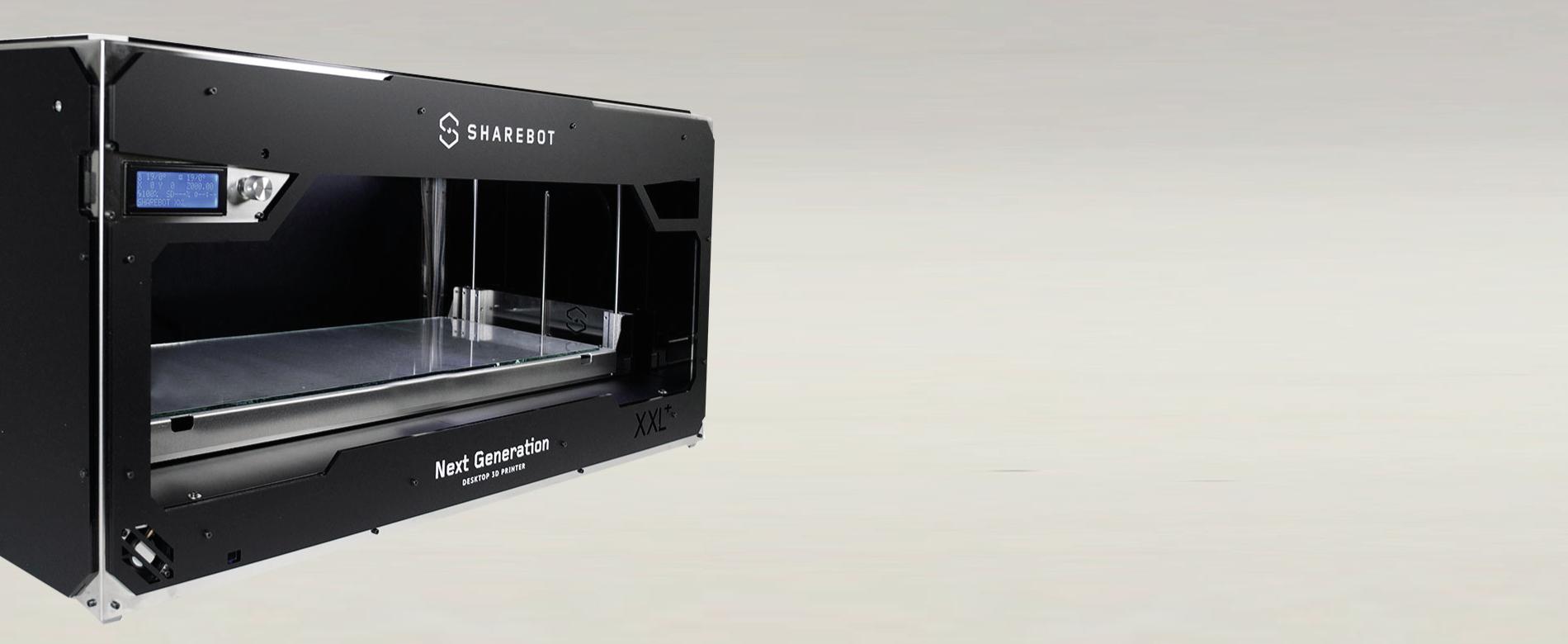 Stampanti 3D Sharebot Monza stampanti 3D professionali 3d store 3d shop xxl