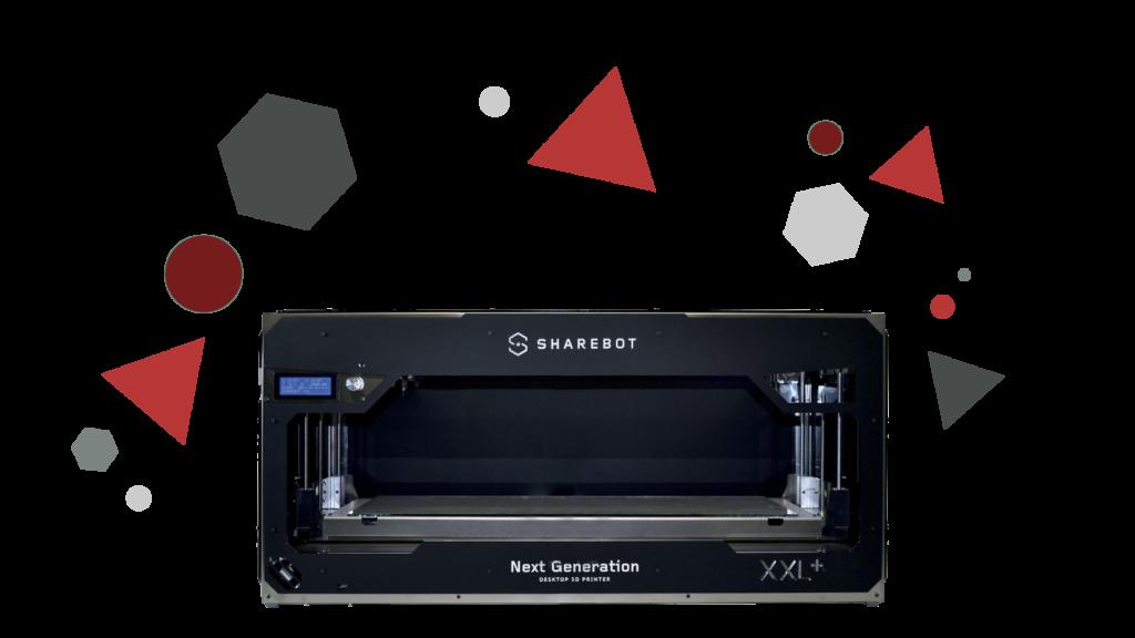 Stampanti 3D professionali Sharebot Monza Sharebot xxl 3d store 3d shop xxl stampante 3D