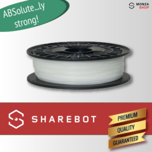 ABS bianco Sharebot ABSolute filamento ABS per stampa 3D sharebot monza store