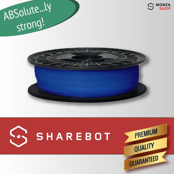 ABS blu Sharebot ABSolute filamento ABS per stampa 3D sharebot monza store