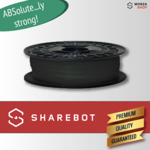ABS nero Sharebot ABSolute filamento ABS per stampa 3D sharebot monza store