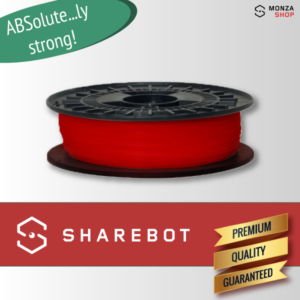 ABS rosso Sharebot ABSolute filamento ABS per stampa 3D sharebot monza store