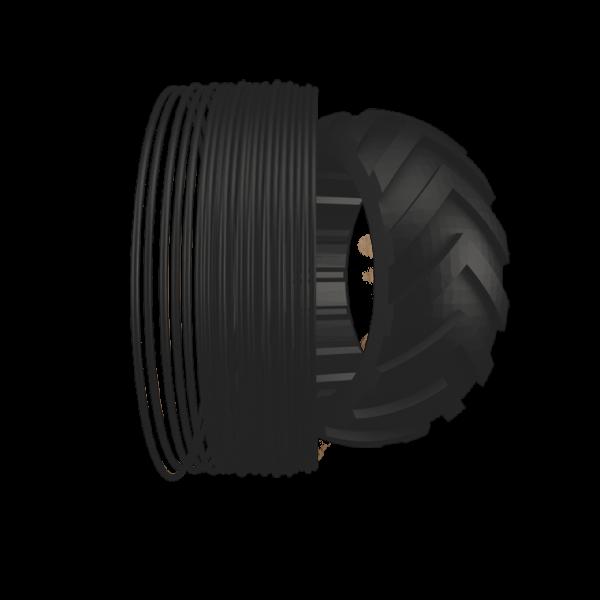 Filamento TPU stampa 3D 500g 1,75mm - FlexMark TPU TREED FILAMENTS Sharebot Monza 3D Store