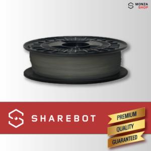 PLA argento Sharebot filamento PLA per stampa 3D sharebot monza store