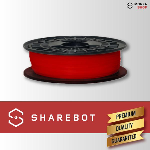PLA rosso Sharebot filamento PLA per stampa 3D sharebot monza store