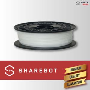 PLA trasparente Sharebot filamento PLA per stampa 3D sharebot monza store