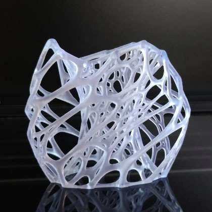 resina stampa 3d trasparente sharebot monza s-clear