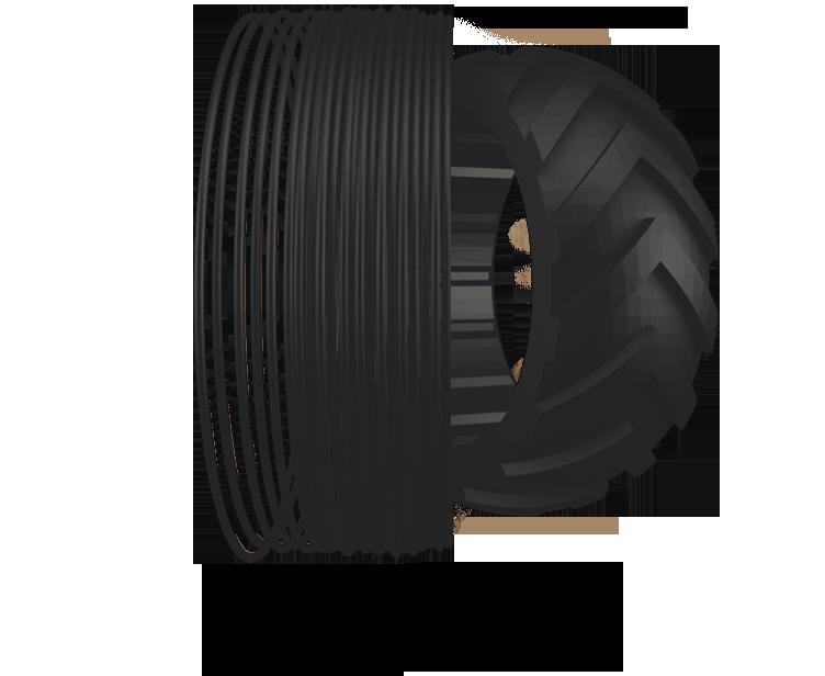 Filamento TPU 500g 1,75mm – FlexMark 6 (Shore A 60) TREED FILAMENTS