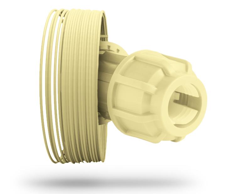 Filamento polietilene E-Lene2 HDPE 750g 1,75mm – Filamento alimentare TREED FILAMENTS