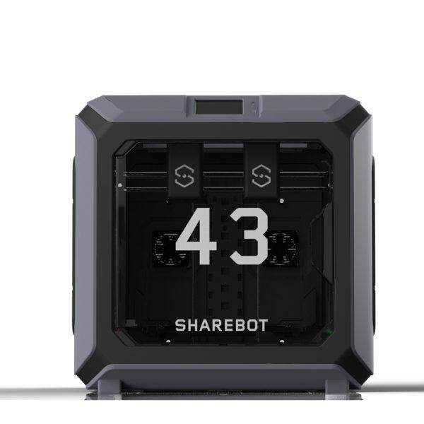 sharebot 43 stampante 3d doppio estrusore indipendente 3d store monza