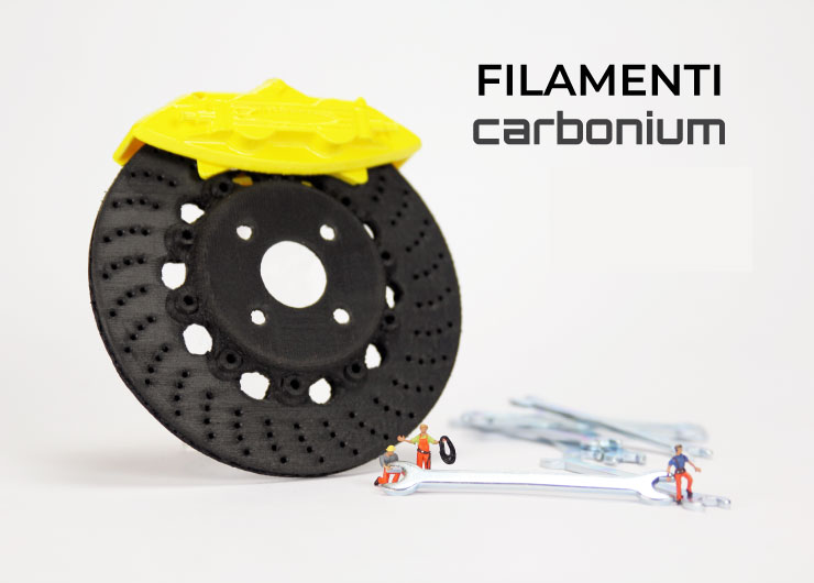 filamenti fibra carbonio stampa 3d store monza sharebot