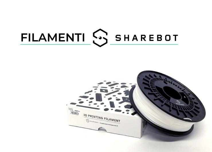 filamenti stampa 3d sharebot 3d store monza