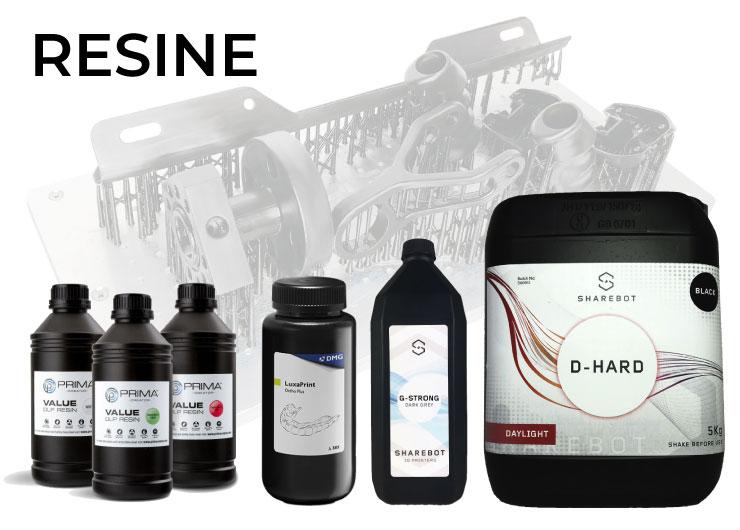 resine stampa 3d store monza sharebot