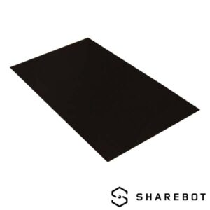 piatto stampa polipropilene sharebot kiwi 3d store monza