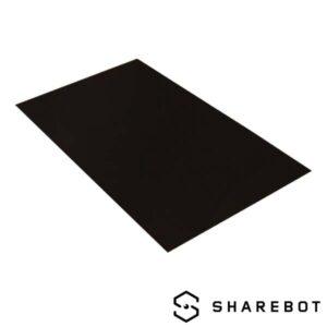 piatto stampa polipropilene sharebot ng 3d store monza