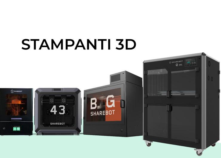 stampanti 3d sharebot 3d store monza