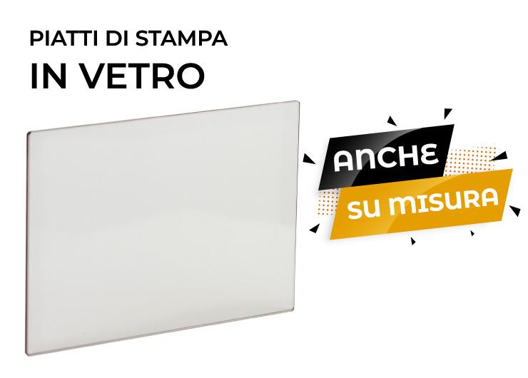 piatto stampa vetro stampante 3d store monza sharebot