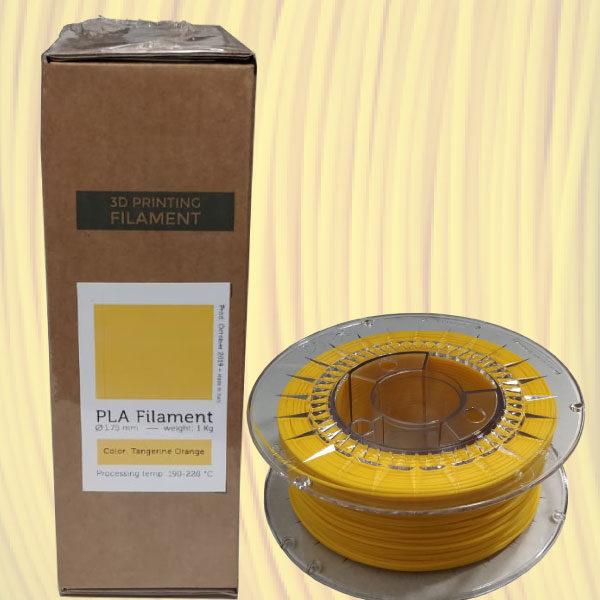 filamento pla arancio mandarino eumakers stampa 3d store monza sharebot